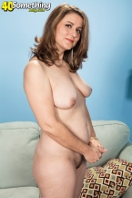 Gia Marie and her hairy pussy