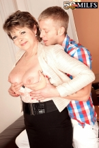 Young scholar strikes chord with 54-year-old MILF/GILF