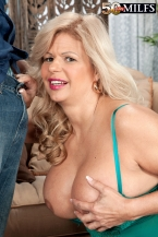 Big boobs, pierced vagina, anal and a spunk pie, too!
