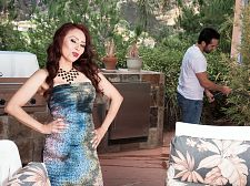 Red-hot Mama I'D LIKE TO FUCK Claudia acquires ass-fucked by the gardener
