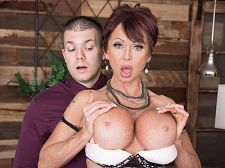 Gina gives fresh meaning to, Copulate The Boss!